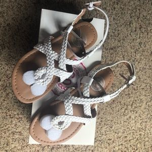 So mime girls sandals NWT size 13!